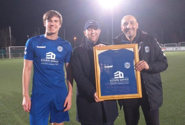 Estate Office Scores With Woodford Town