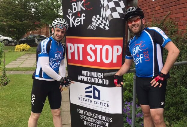 Proud to support Bike4Kef 2017