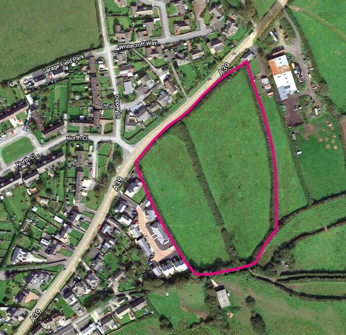Aerial View Site Outline