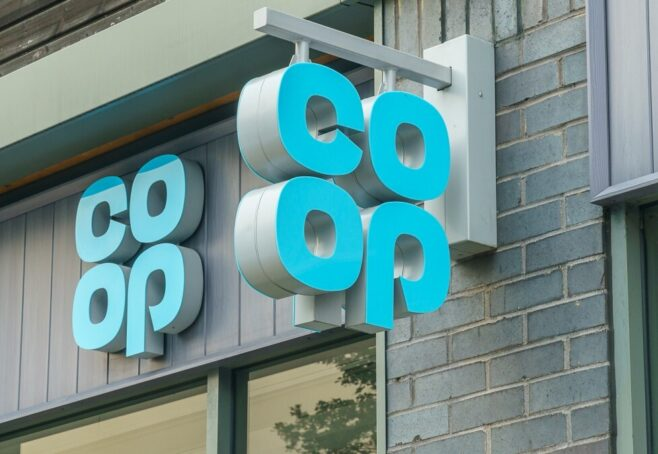 Co-Op, Anchor Road, Coleford, Radstock, Somerset BA3